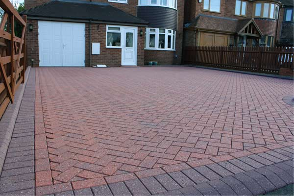 recent image of driveway clean